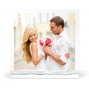 Carte de Remerciement de Mariage Thème Festif