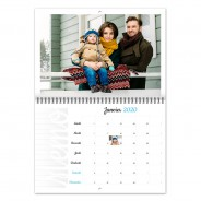 Calendrier Photo A3 double volet