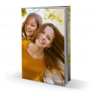 Livre photo rigide A4 portrait avec jaquette