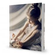 Livre photo luxe 30x37 portrait couverture personnalisée