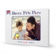 Livre photo rigide A4 Fête des Pères