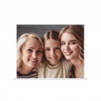 Cadre Photo Argent Mat 40 x 50 cm avec tirage