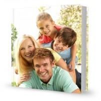 Livre luxe 30x30 couverture personnalisée cousue