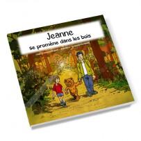 Livre enfant personnalisable fille «Promenade dans les bois»