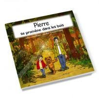 Livre enfant personnalisable garçon «Promenade dans les bois»