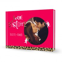 Livre photo A4 saint valentin