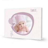 livre photo naissance fille