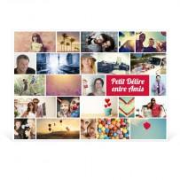 """Poster photo 50x70cm """"Mosaïque"""" Paysage"""