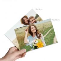 Tirages photo 12x18 cm ou 13x18 cm Brillant